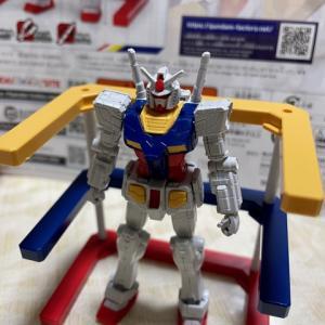 GUNDAM FACTORY YOKOHAMAの入場者特典の1/200 RX-78F00 ガンダムを組み立てたみた