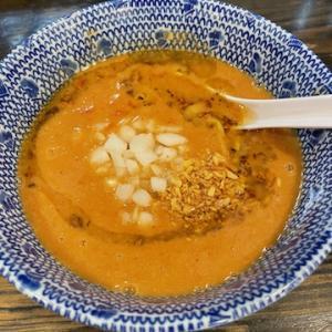 麺堂稲葉KukiStyleにて、トマ鶏つけ麺 稲葉盛りを食す