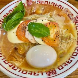 味噌中華そばムタヒロにて、冷やしトマ味噌 味玉トッピングを食す