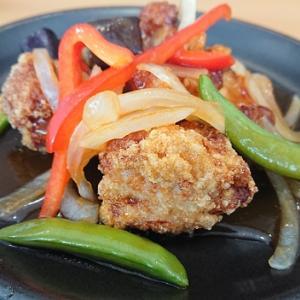 ガスト 若鶏と彩り野菜の香酢あんランチ