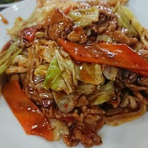 上町北京飯店 豚肉とキャベツの中華みそ炒め