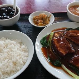 上町北京飯店 豚角煮の蒸し煮