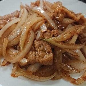 上町北京飯店 豚肉と玉ねぎのしょうが風味炒め