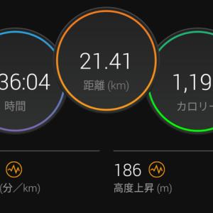 山下公園往復ハーフ走 ~東京マラソンに向けて