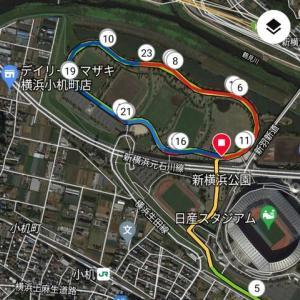 5か月ぶりの新横浜公園 ~別大を目指して