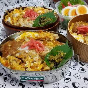 カツ丼弁当 takaちゃんダウン