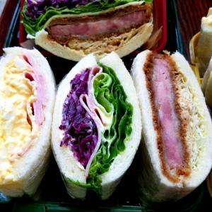 サンドイッチのお弁当  ストレスで便秘