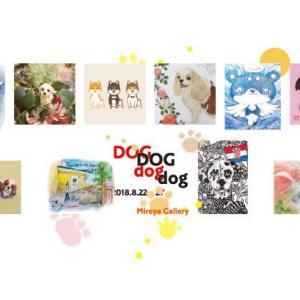 DOGdog展@銀座ミレージャ ギャラリー、素敵すぎました😍