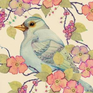 出会いを呼ぶ青い鳥の待ち受け…。とにかく出会いが欲しい!という人向けの待ち受け