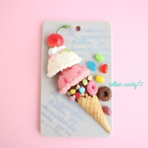 カラフルなアイスクリーム♪