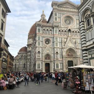 フィレンツェの眺望を眺めながら