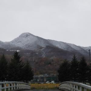 一気に冬景色