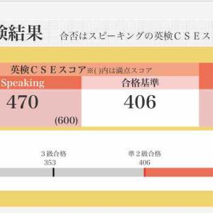 今さら…英検準2級〜二次試験結果〜