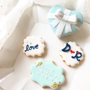 結婚祝いにアイシングクッキー