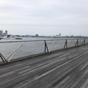 「難破船」 思い出の地巡り@横浜大さん橋