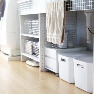 DIY後の洗面台。の収納。