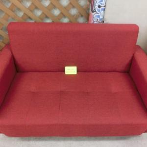 2人掛けソファー カラー赤
