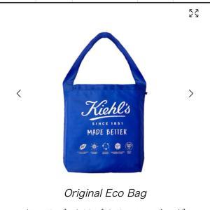 Kiehl's(キールズ)のエコバッグ購入しました♪