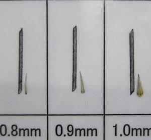 線状毛穴の長井式植毛