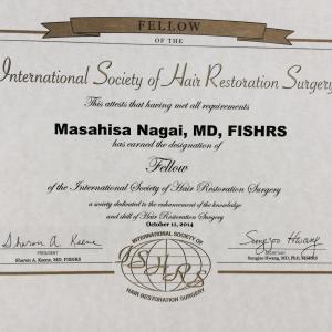 国際毛髪学会(ISHRS)の会員規定の変更