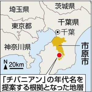 地球史に「千葉時代」誕生へ 日本初の地質年代名、国際審査でイタリア破る