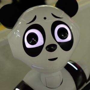 困惑・恐怖・失笑・嘲笑・・・どうしてこうなった!? 上野駅に現れた「パンダPepper」