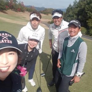 ゴルフ(^^)