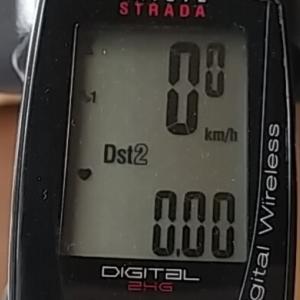 ローラー毎日20キロ止めてしまったけど2.6kg減!