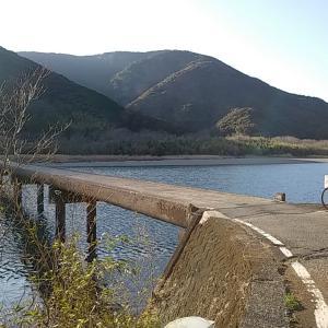 ダムと沈下橋の79キロ