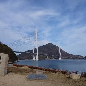 しまなみ海道 大三島一周やっと初詣