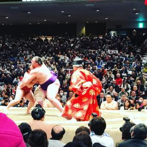 お相撲の迫力