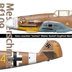 メッサーシュミットの最終進化型Bf109K-14のプラモデルが発売