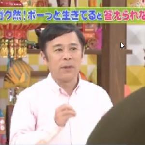 チコちゃんに叱られる!▽ブルーシートの青の謎▽中国料理の回転テーブル