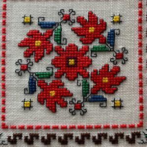 ブルガリア刺繍