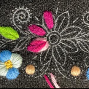 ふっくら可愛いアヤクーチョ刺繍