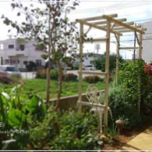 美容室の庭作業 NIWABI