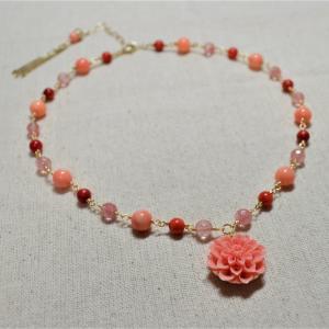 桜モチーフ ネックレス