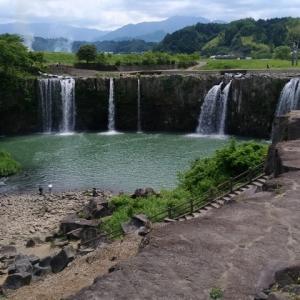 阿蘇の大噴火でできた「原尻の滝」