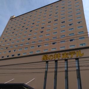 久しぶりに亀の井ホテル宿泊