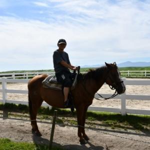 初めての乗馬@エルパティオ牧場