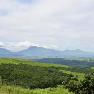 阿蘇高原の景色