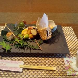 小田温泉「四季の里 はなむら」の食事