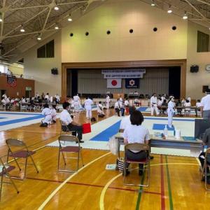 令和3年度国体予選(少年の部)&全国中学生空手道選手権新潟県予選会