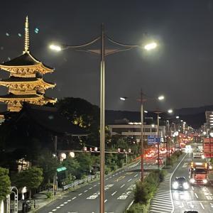 京都の夏~♪「世界遺産 東寺」