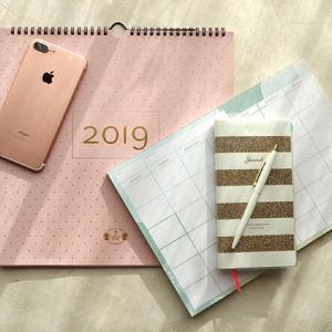 気分が上がる2019年の手帳とカレンダー&スケジュール表