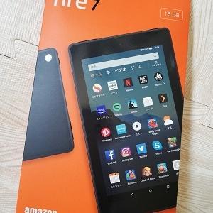 amazonのFire7タブレットを買ったよ