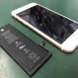 iPhone6のバッテリーを交換!これからもメインで使います!