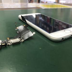 iPhone6のLightningコネクタを交換しました!充電ができなくて困る!