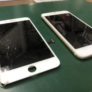 iPhone7のフロントパネルを交換しました!オリジナルパネル使用で値段を抑えた修理!