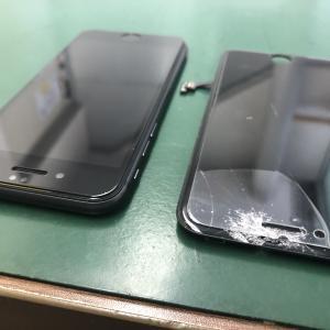 iPhone8のフロントパネルを交換しました!打コンが大きなiPhoneを修理!
